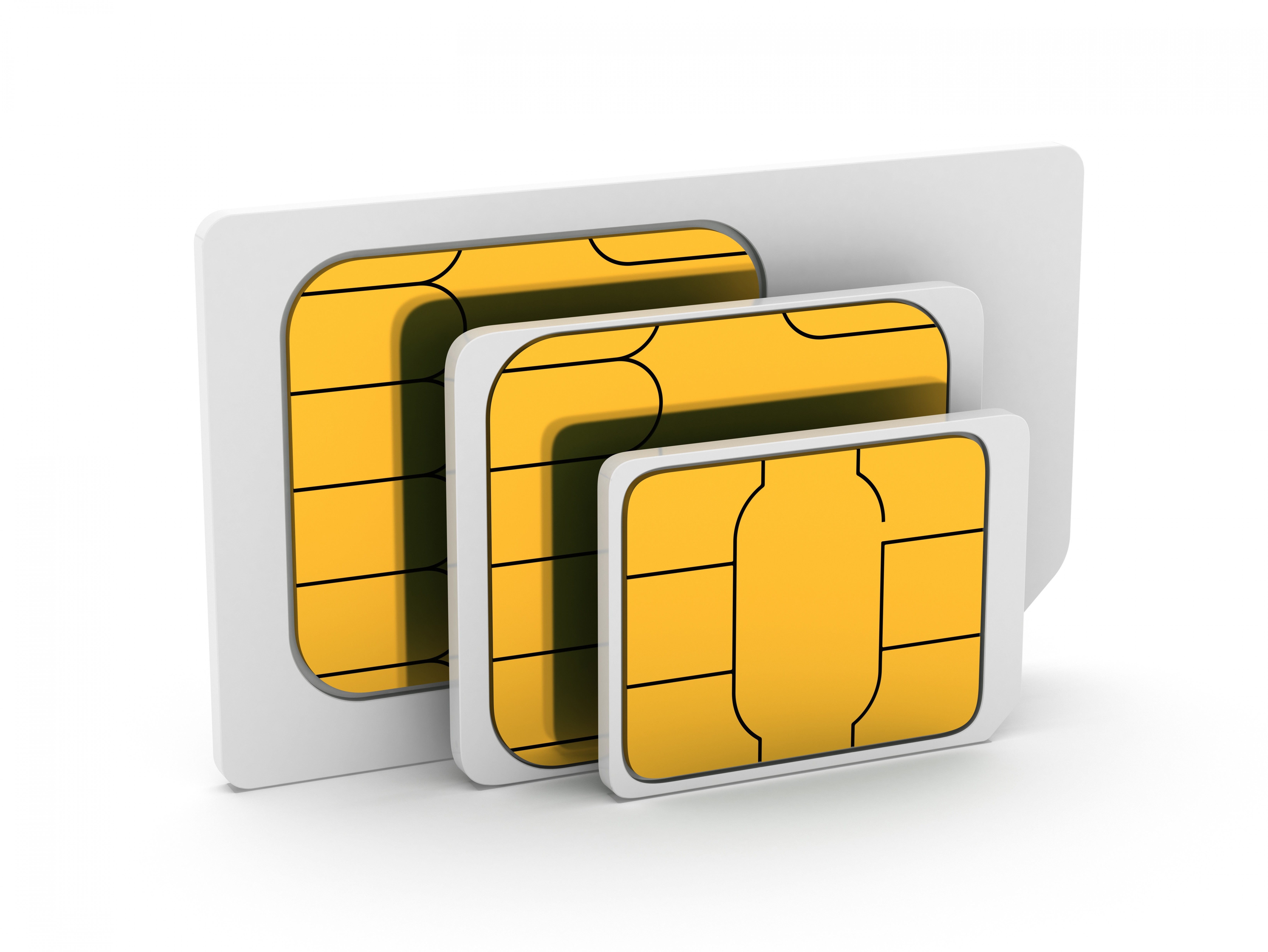 Wireless Traveler Global, Micro or Nano SIM cards