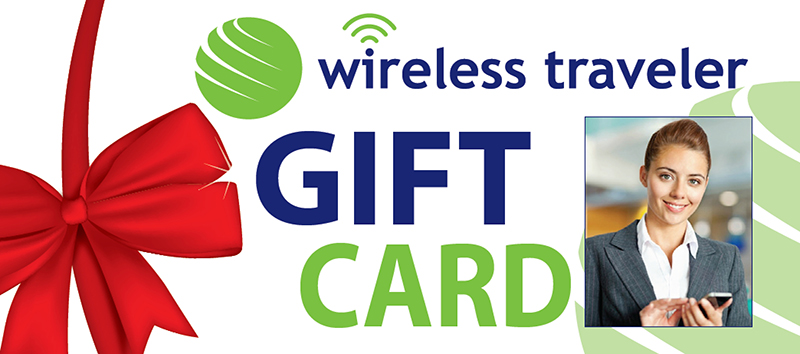 Wireless Traveler Holiday Gift Card