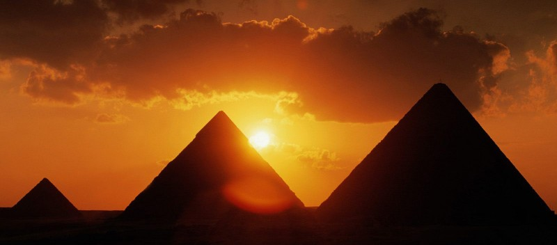 Great Pyramids of Giza Egypt