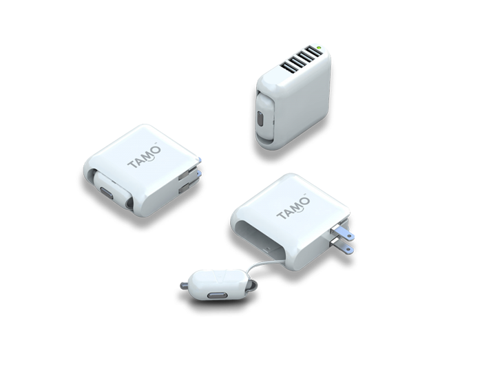 All in One Car & Wall Charger 4 USB Ports