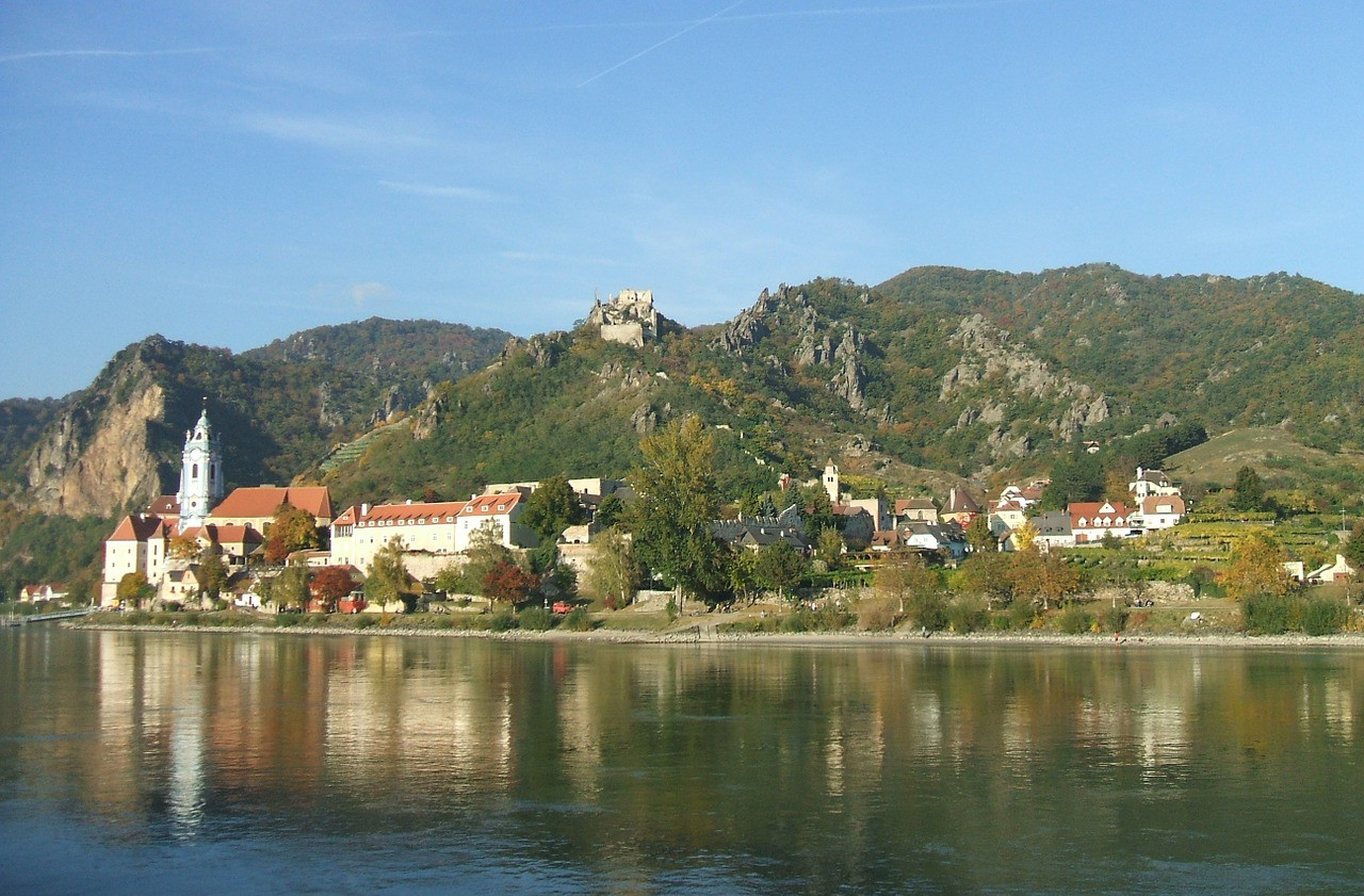 Wachau Valley, Austria, Danube River