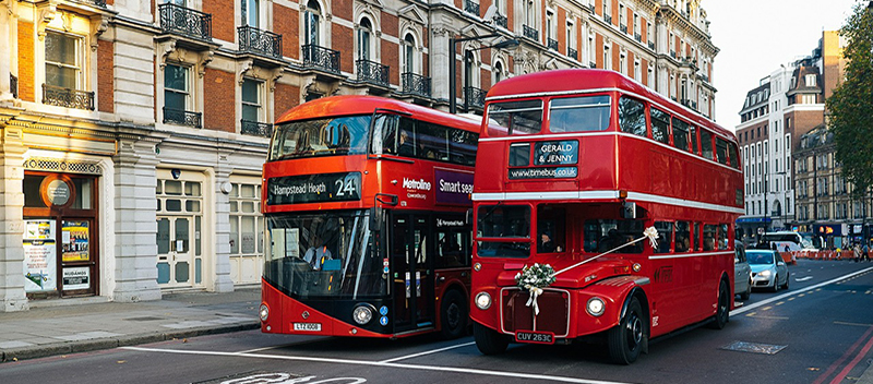 London, England buses