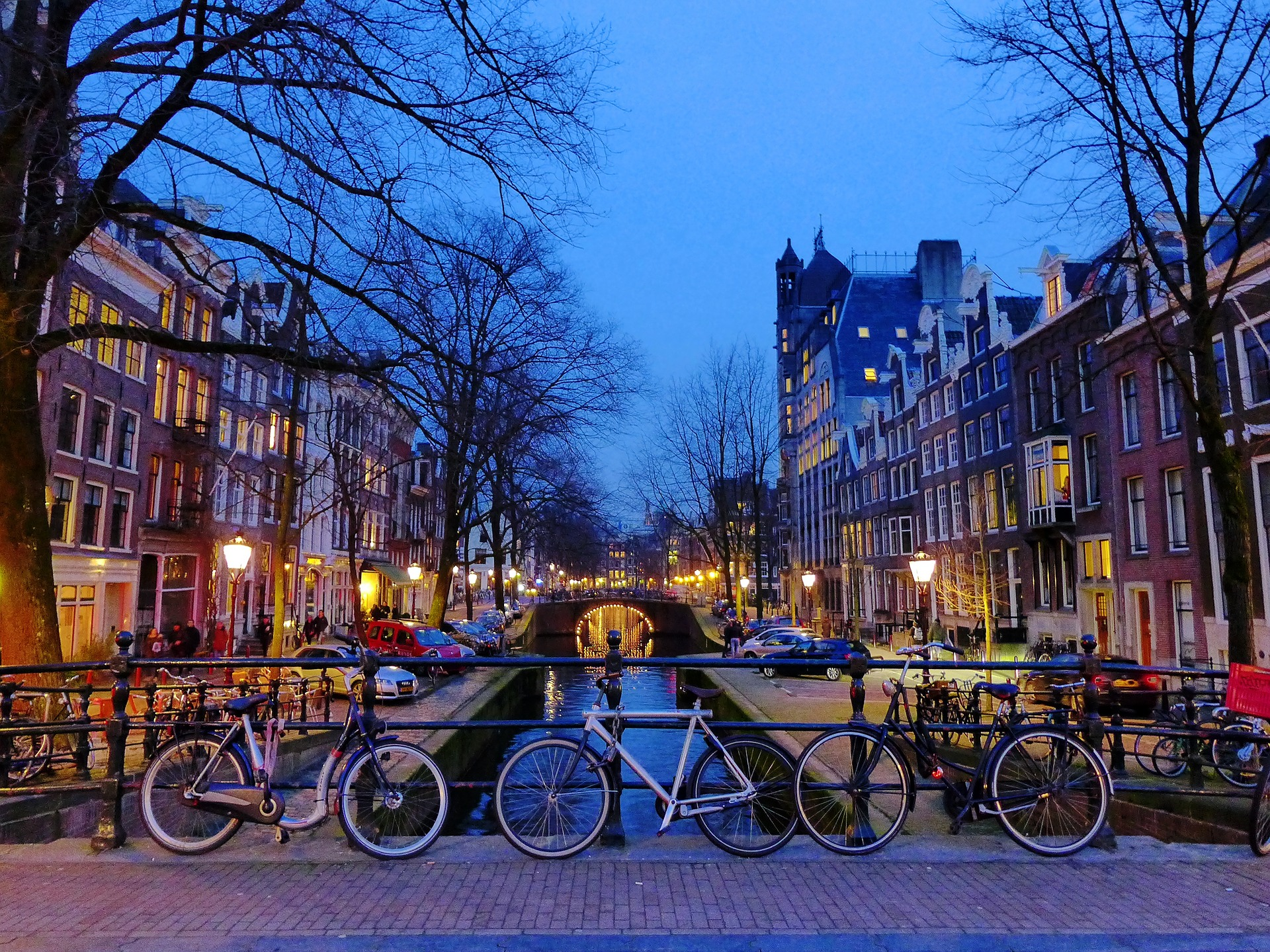 Amesterdam, Netherlands - River and Bike Tour