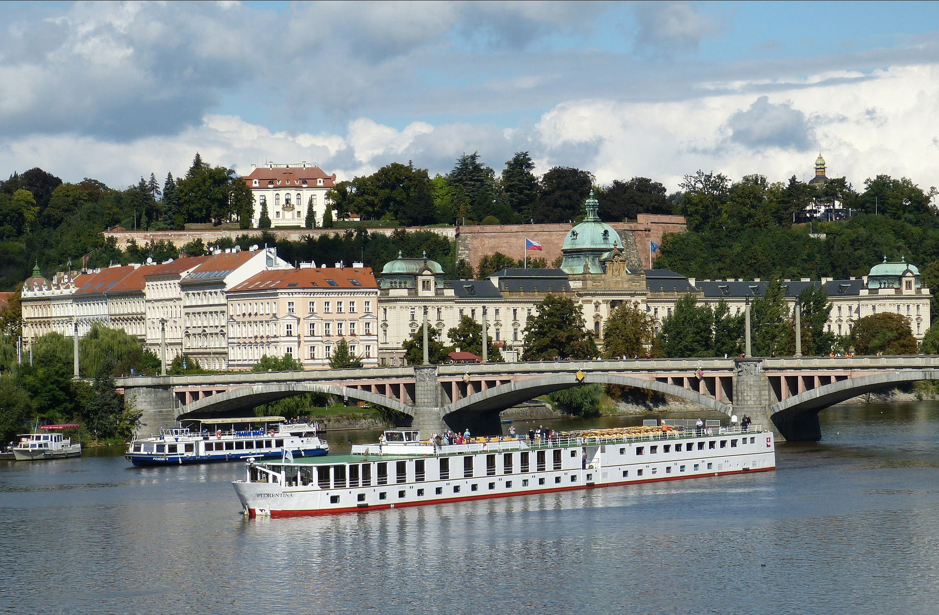 Prague, Czech Republic, Danube River