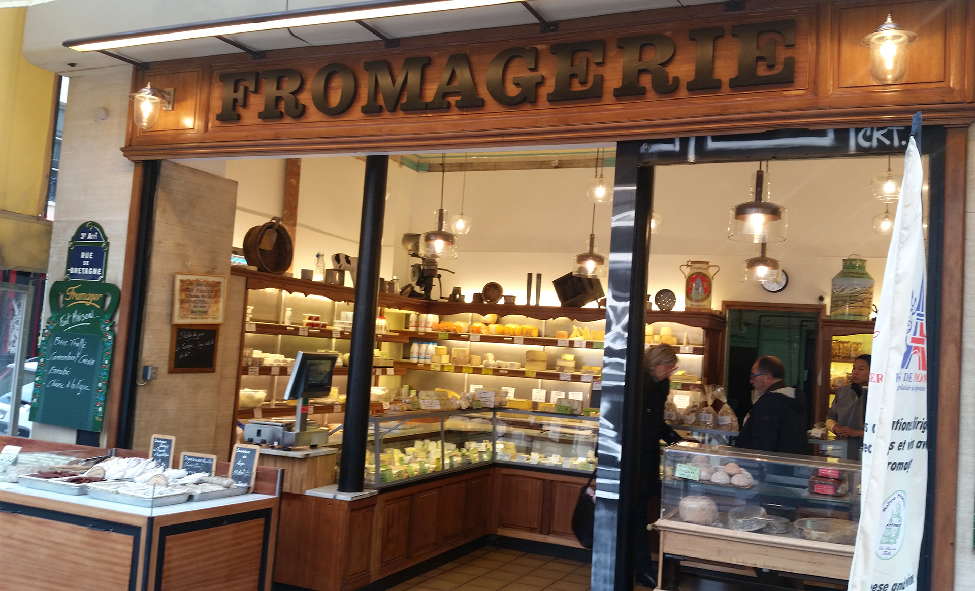Fromagerie in Paris, France