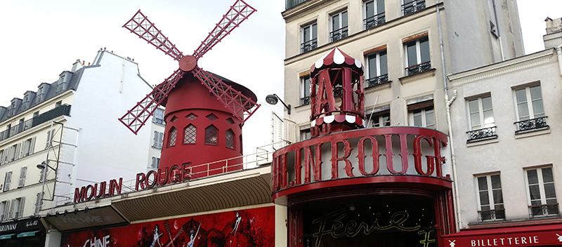 Moulin Rouge, Montmartre, Paris, France