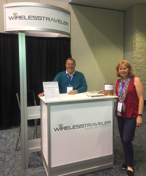Wireless Traveler at GBTA 17 Conference in Toronto, Canada