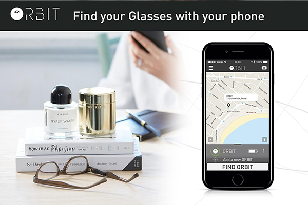 Orbit Eyeglass Finder