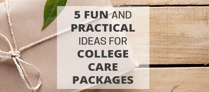 College Care Package Gift Ideas