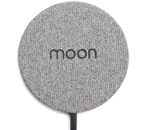Moon-wireless-charger-grey