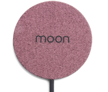 Moon-wireless-charger-pink