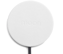 Moon-wireless-charger-white